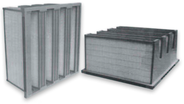 Filters for dust collection Rigid Bag-Filters High efficiency mini-pleat