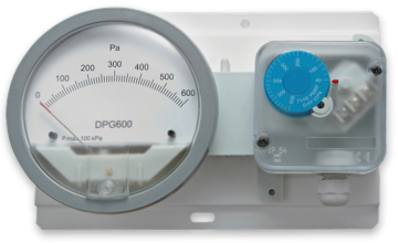 AEROFILTRI instruments for painting systems - Differential Pressure Gauge with Pressure Switches DPG-PS