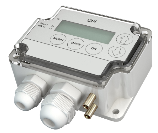 AEROFILTRI instruments for painting systems - 2 Relay Electronic Differential Pressure Switch DPI