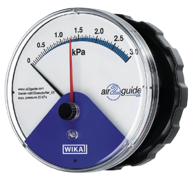 AEROFILTRI instruments for painting systems - Differential Pressure Gauge a2g WI