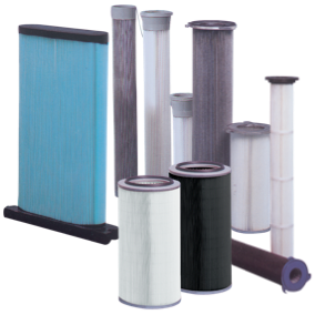 Powder Filters - Paper and Polyester Cartridges CRT